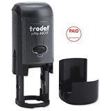 "Image of Trodat Printy 46019 Stamp Self Inking / ""Paid"" / Reinkable Red"