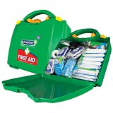 Image of Wallace Cameron BS8599-1 Large Green Box First Aid Kit - 1-50 Users