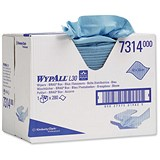 Image of Kimberly-Clark Wypall L30 Brag Box / 280 Sheets / Blue