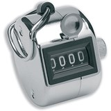 Image of Metal Handheld 4 Digit Tally Counter