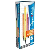 Image of Paper Mate Non-Stop Automatic Pencil / Assorted Neon Barrels / Pack of 12
