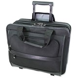 Image of Lightpak Business Laptop Trolley / 17 inch Capacity / Nylon / Black
