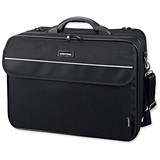 Image of Lightpak Corniche Multifunction Nylon with Laptop Compartment / 17 inch Capacity / Black