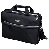 Image of Lightpak Laptop Bag / Top Loading with 15 inch Laptop Compartment / Nylon / Black