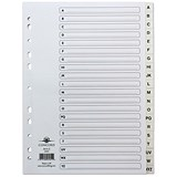 Image of Concord Index Dividers / A-Z / A4 / White