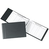 Image of Concord CD14 Loose-Leaf Visitors Book / 230x335mm Binder with 50 Sheets / 2000 Entries