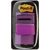 Image of Post-it Index Flags / Purple / Pack of 12 x 50