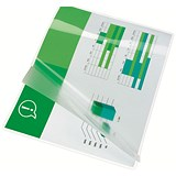 Image of GBC A4 Laminating Pouches / Thin / 150 Micron / Glossy / Pack of 25