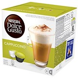 Nescafe Cappuccino for Nescafe Dolce Gusto Machine - 24 Drinks (48 Capsules)