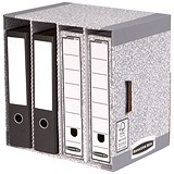 Image of Fellowes Bankers Box System File Store Units / Pack of 5