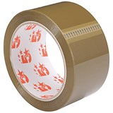 Image of 5 Star Packaging Tape / Polypropylene / 50mm x 66m / Buff