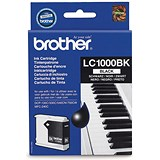 Image of Brother LC1000BK Black Inkjet Cartridge