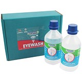 Image of Wallace Cameron Eyewash / Sterile Water Bottles for Eye Care Dispensers / 500ml / Pack of 2