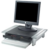 Image of Fellowes Office Suites Monitor Riser / Small / Height-adjustable / 36kg Capacity