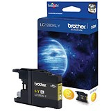Image of Brother LC1280XLY High Yield Yellow Inkjet Cartridge