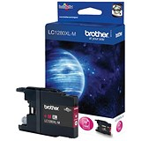 Image of Brother LC1280XLM High Yield Magenta Inkjet Cartridge