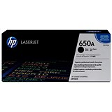 HP 650A Black Laser Toner Cartridge