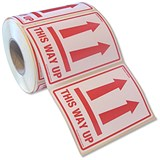 "Image of ""This Way Up"" Parcel Labels - 500 Labels"
