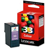 Image of Lexmark 33 Colour Inkjet Cartridge