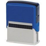 5 Star Custom Self-Inking Imprinter Stamp - 48x20mm (5 Lines of Text)