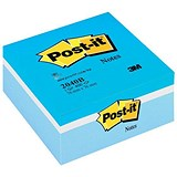 Image of Post-it Note Cube / 76x76mm / Pastel Blue / 450 Notes per Cube