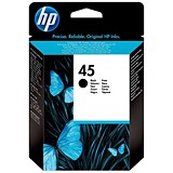 Image of HP 45 Black Ink Cartridge