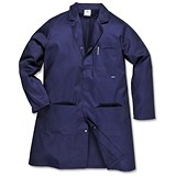 Image of Portwest Hygiene & Warehouse Coat / Medium / Navy