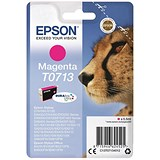 Image of Epson T0713 Magenta DURABrite Inkjet Cartridge