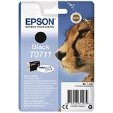 Image of Epson T0711 Black DURABrite Inkjet Cartridge
