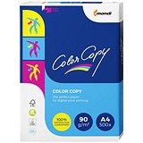Image of Color Copy A4 Super Smooth Copier Premium Paper / White / 90gsm / Ream (500 Sheets)