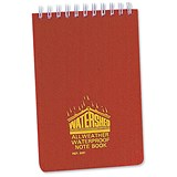 Chartwell Watershed Waterproof Book / 101x156mm / Wirebound & Ruled / 50 Leaf