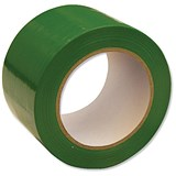 Image of Floor Marking Tape Heavy Duty Green 75mmx33m