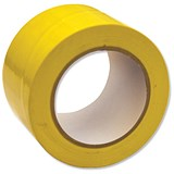 Floor Marking Tape Heavy Duty Yellow 75mmx33m
