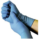 Image of Nitrile Food Preparation Gloves / Powder-free / Medium / Blue / 50 Pairs