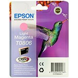 Image of Epson T0806 Light Magenta Claria Inkjet Cartridge