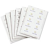 Image of Durable Inserts for Duraprint Badgemaker / 150gsm / 90x60mm / Pack of 160