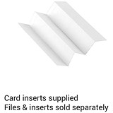 Image of Rexel MultiFiles Suspension File Inserts / White / Pack of 50