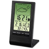 Image of Thermometer/Hygrometer LCD Digital Display Weather Station