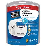 First Alert Carbon Monoxide Detector Alarm LED and Fittings 85dB