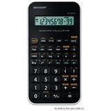 Image of Sharp Calculator Handheld Junior Scientific Battery Power 10 Digit Ref EL-501x