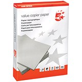 Image of 5 Star A4 Value Multifunctional Paper / White / 75gsm / Ream (500 Sheets)