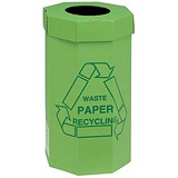 Acorn Green Bins for Recycling Waste / 60 Litre / Pack of 5