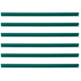 Image of A4 Spine Bars for 60 Sheets / 6mm Capacity / Green / Pack of 50