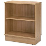 Image of Adroit Virtuoso Low Bookcase - Cherry Marbella