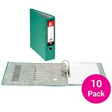 Image of 5 Star A4 Lever Arch Files / Green / Pack of 10