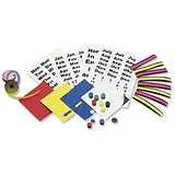 5 Star Magnetic Planning Kit with Name Holders + Month & Day Symbols