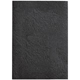 GBC Antelope Binding Covers / 250gsm / A4 / Leathergrain / Black / Pack of 100