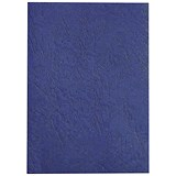 GBC Antelope Binding Covers / 250gsm / A4 / Leathergrain / Royal Blue / Pack of 100