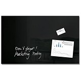 Image of Sigel Artverum High Quality Tempered Glass Magnetic Board / 780x480mm / Black