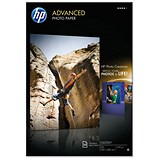Image of HP A3 Advanced Photo Paper Glossy / White / 250gsm / Pack of 20